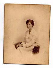 1920's Studio Portrait Photo of a Lady - A. Debenham, Southsea