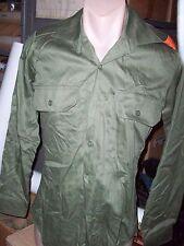 AUSTRALIAN ARMY VIETNAM GREEN SHIRTS GOOD USED CONDITION - GENUINE 1980's MADE