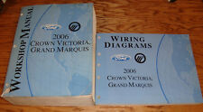 2006 Ford Crown Victoria Mercury Grand Marquis Shop Service Manual + Wiring Set
