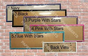 """31"""" x 10"""" Plastic Hard Frame for personalized poster"""