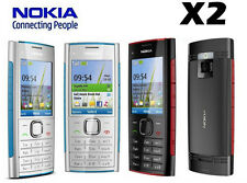 NOKIA X SERIESE X2-00 BLACK&SILVER 5MP FM RADIO MP3 UNLOCKED MOBILE CELL PHONE