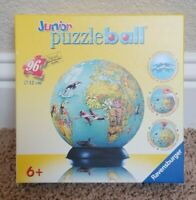 Ravensburger - Junior Puzzleball - 96 Piece Globe 3D Jigsaw Puzzle NIB