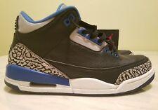 Nike Air Jordan 3 Retro SPORT BLUE size 8.5 X V I LeBron yeezy melo cp3 kd pg sb