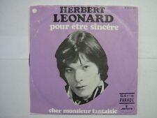 HERBERT LEONARD 45 TOURS BELGIQUE POUR ETRE SINCERE 4