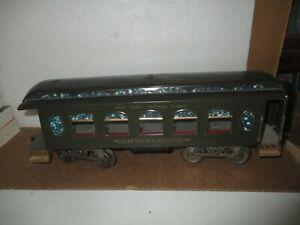 Standard Gauge: Lionel #190  Passenger Car - New York Central  Observation Car