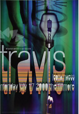 Official Rex Ray Collection Store - Rex Ray - Travis Poster Fillmore 2000