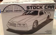 1989 FORD THUNDERBIRD STOCK CAR 1/24 SCALE MODEL EMPIRE MONOGRAM FACTORY SEALED