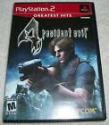 Resident Evil 4 Playstation 2 2005 Ps2 Greatest Hits With Manual  Tested