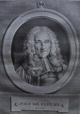 JOLY DE FLEURY PORTRAIT 1788 , D'APRES DE LORRAINE ,