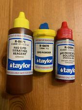 Taylor Fas-Dpd Ricambio Reagenti R-0871-C R-0870-I R-0004-A Kit