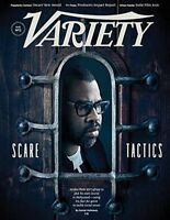 VARIETY MAGAZINE AUGUST 2018- NO.2-JORDAN PEELE SCARE TACTICS-TACKLING ISSUES