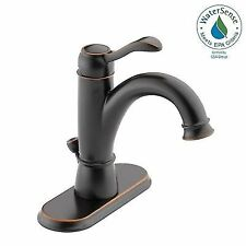 Delta Bronze Centerset Bathroom Faucets Ebay