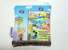 Super Paper Mario Reusable Snack Bag Original Design Sandwich Lunch Bag NEW
