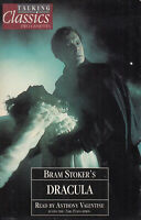Bram Stoker Dracula Talking Classics 2 Cassette Audio Book Abridged FASTPOST