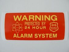Set of 5 Home Security Stickers -Help Secure Your Home From Break-ins -FREE SHIP