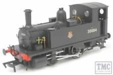 4S-018-011D Dapol OO Gauge B4 0-4-0T 30084 BR Black Early Crest (DCC-Fitted)