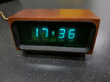 G9-02 UDSSR Elektronika 4 6 Wecker Uhr Digitaluhr Nixie Röhren 70er Vintage RAR