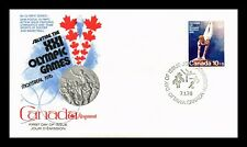 DR JIM STAMPS 10 + 5 MONTREAL OLYMPIC GAMES FIRST DAY ISSUE CANADA SEALED COVER