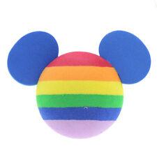 1x Eye-catching Rainbow Disney Micky Mouse Car Aerial Ball Antenna Topper Decor