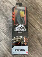 🔥NEW Mattel Jurassic World 12 Inch SPINOSAURUS Dinosaur Toy - RARE