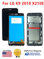 WOW For LG K Series K9 2018 X210E Replacement LCD Touch Screen Digitizer ± Frame