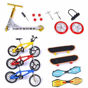 Mini Finger Scooter Bike Fingerboard Skateboard Two Wheels Board Toys 18PC/Set