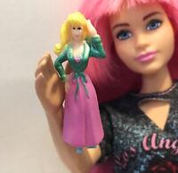 Miniature LITTLE MERMAID Barbie Doll Tiny Dollhouse Toy