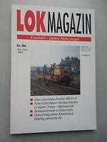 LOK Magazin Eisenbahn gestern heute morgen  Nr. 186 Mai / Juni 1994