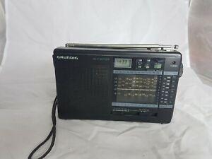 Vintage Portable Grundig Yacht Boy 206 Radio Receiver Alarm Timer