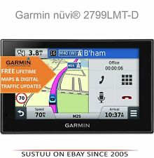 "Garmin Nuvi 2799LMT-D│7""GPS SatNav│Bluetooth│VoiceActivate Navigation│Foursquare"
