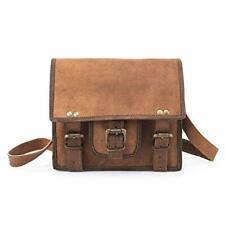 689c2f893c9 Men Soft Leather Messenger Briefcase Laptop Shoulder Bag Office Computer  Satchel