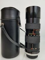 Tamron Zoom Adaptall 2 Macro, BBAR, 85-210mm f4.5 MC Lens+ Canon FD Mount & Case