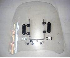 (CA)Motorcycle Windscreens&Wind Deflectors Scratch Resistant Scooter Windshield