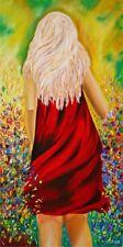 Prado Pintura, Abstracto Moderno Pared Arte, Lienzo Arte, arte moderno pinturas, grandes