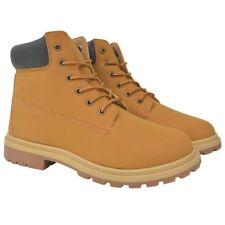 Vidaxl botas de hombre Camel talla 44 #131718
