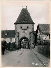 BOERSCH c. 1930 - Bas Rhin - Ph. des Chemins de Fer - 72