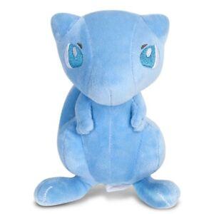 Center Blue Shiny Mew Plush Doll Stuffed Animal Figure Toy 7 '' Gift