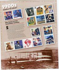 Stati Uniti/United States 1998 celebriamo il 20 secolo 1 serie mnh
