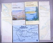 STRAIT OF GEORGIA CANADA NAUTICAL MAPS SMALL CRAFT CHART VANCOUVER BC 3311 3310