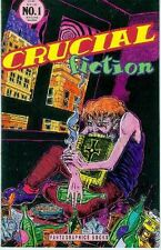 Crucial Fiction! # 1 (Julian Lawrence) (USA, 1992)