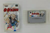 GO GO ACKMAN  With Box Nintendo Super Famicom  SFC SNES Japan USED