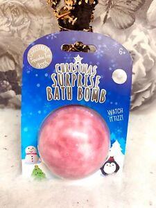Bath Bomb Christmas surprise Inside Birthday Xmas Stocking Filler 180g