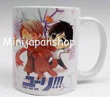 Kawaii Yuri on Ice 11 oz cup coffee mug Japan Anime US Seller