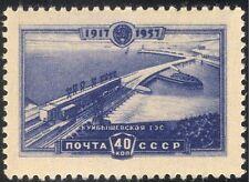 Russia 1957 Dam/Reservoir/Hydro-Electricity/Energy/Power/Commerce 1v (n33483)