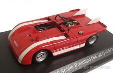 1/43 FIAT ABARTH 2000 SPIDER PROTOTIPO SE021 1971 NOREV HACHETTE DIECAST