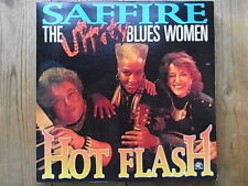 "LP - SAFFIRE THE UPPITY BLUES WOMEN - HOT FLASH ""TOP!"""