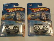 "Mercedes-Benz G500 G-Wagon 2 ""BLINGS"" wheel variations LOT of 2 spinners & 5-spk"