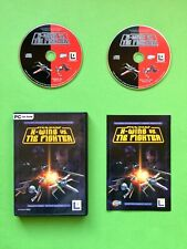 STAR WARS X Wing vs Tie Fighter LUCAS ARTS Game PC 2 CD ROM 2001 OVP DVD Big Box