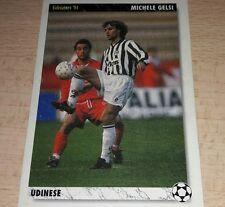 CARD JOKER 1994 UDINESE GELSI CALCIO FOOTBALL SOCCER ALBUM