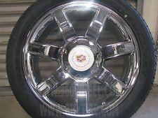 "22""x9"" Cadillac Escalade Rims Replica Chrome Factory Style Wheels Sale 24"
